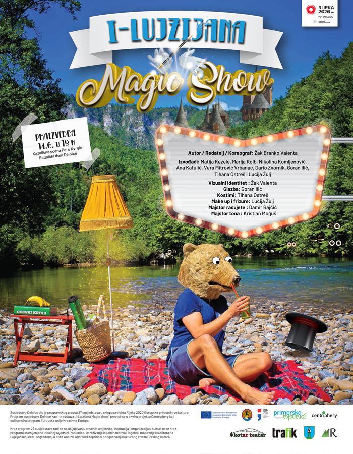 I-Lujzijana magic show